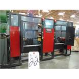 Lincoln System 30, 6-Axis Robotic Welder w/ Dual Spinning Chucks, Fanuc ARC Mate 100iB Robot &