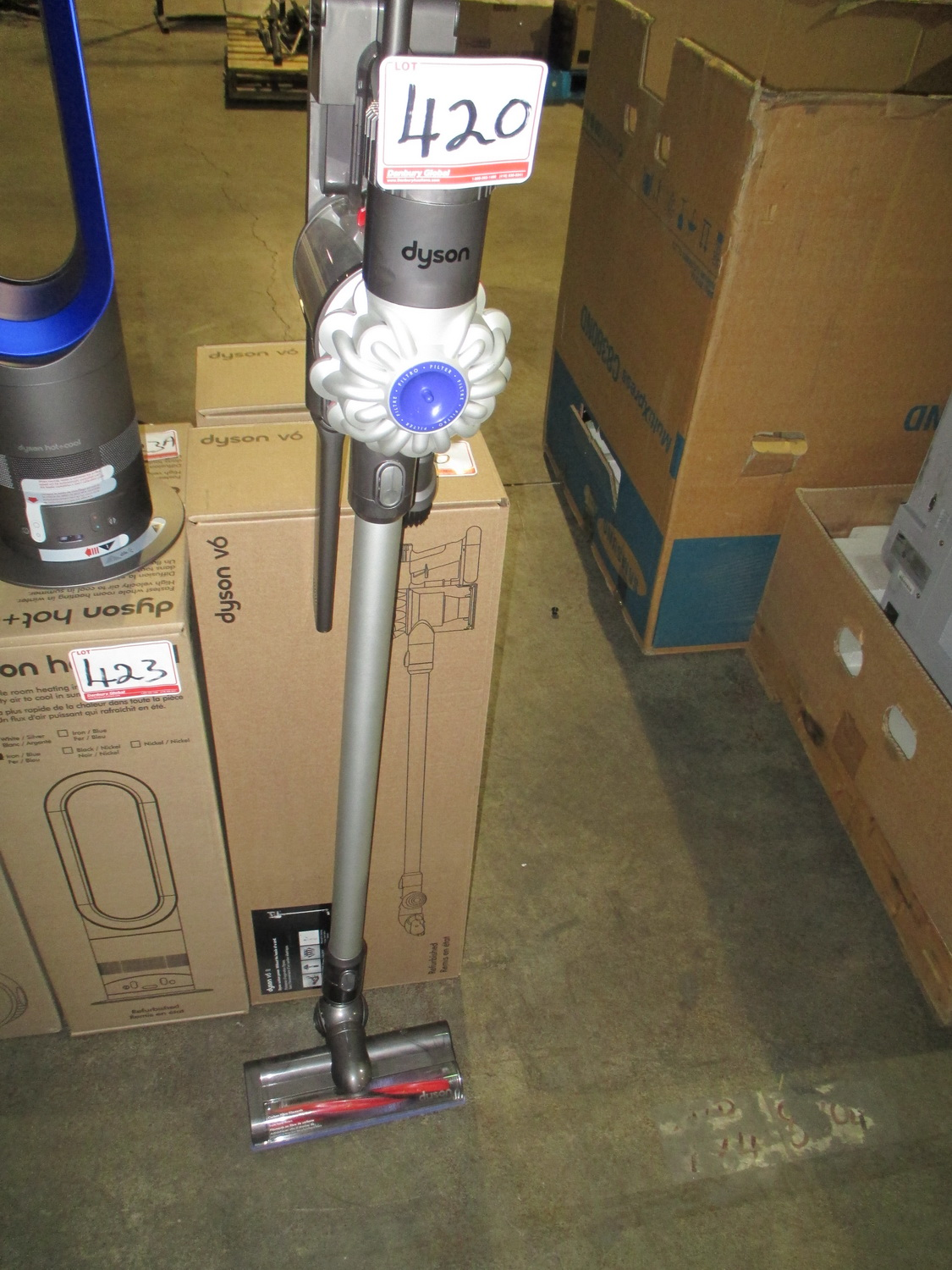 DYSON MOD V6 STICK VACUUM (FACTORY TESTED - IN BOX) (1-YEAR