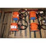 """Contents of Pallet: (4) Valves XOWOX 4"""""""