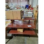 3-Shelf Display Unit & (3) Racks