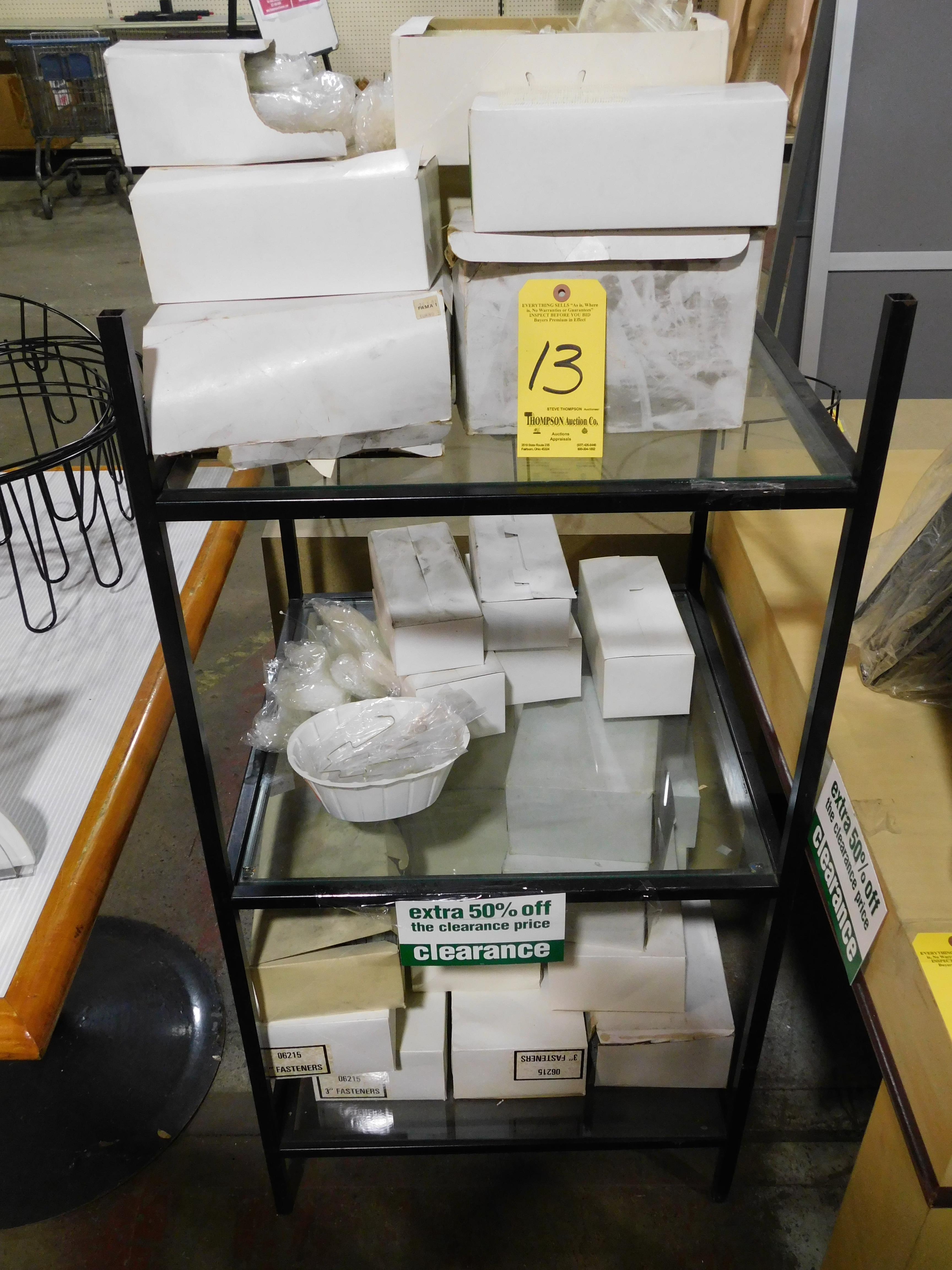 Tag Pins with 3-Tier Shelving Unit