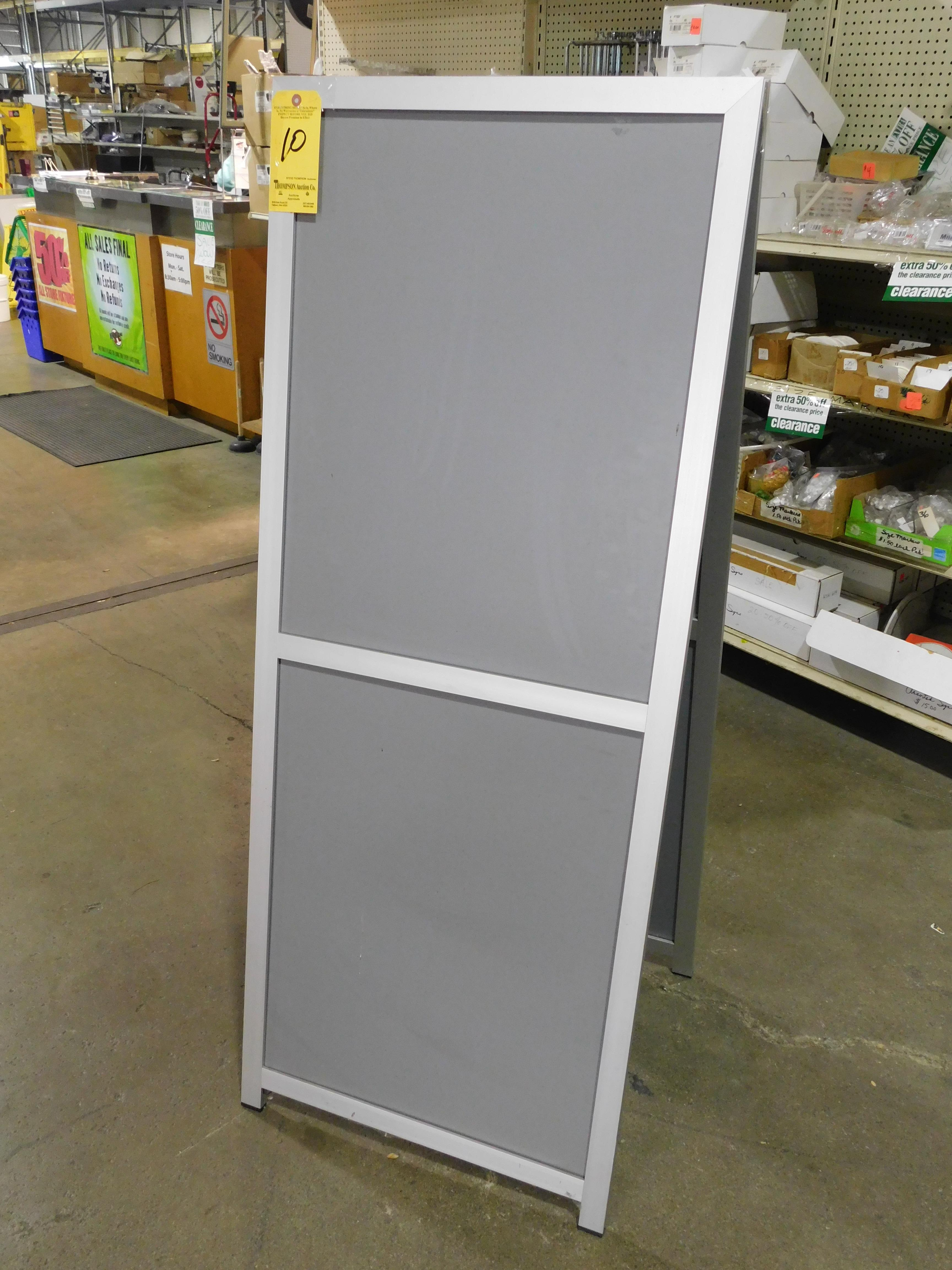 """62"""" x 24"""" Double Sided Sign Board"""