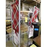 (2) Rotating Displays, Banner Frames