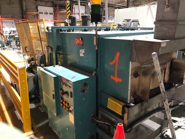 Plastic shrink wrapper applicator and heating tunnel #1 Ideal Equipment, model: 1830, s/n: 1295060 - Image 3 of 3