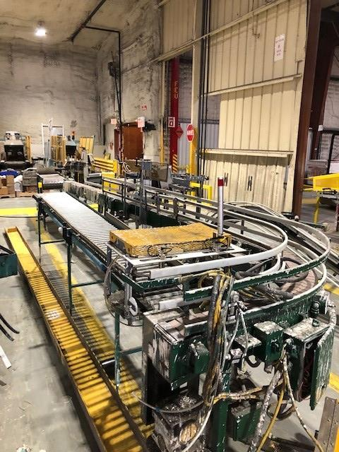 Gallons/quarts conveyors approx 30' long