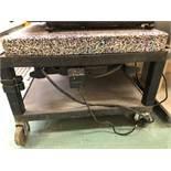 "Marble table 22""x18"" Technilab Instruments model 386 sn J7775"