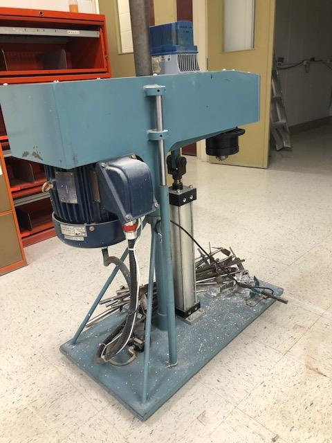 Slow mixer Ragonia 2hp with drive and 12 impellers - Image 2 of 2