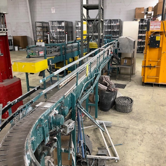 gallons conveyors approx 60' long