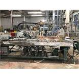 Filler Rago inline 4 heads gallons/quarts Festo System/Ragonia, project no. 404-03-030206, s/n/date: