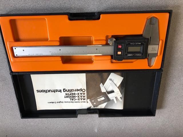 PH meter Corning model 125 sn 2144. Refractometer Fisher Scientific cat no. 13-946-28. Glossmeter - Image 4 of 5