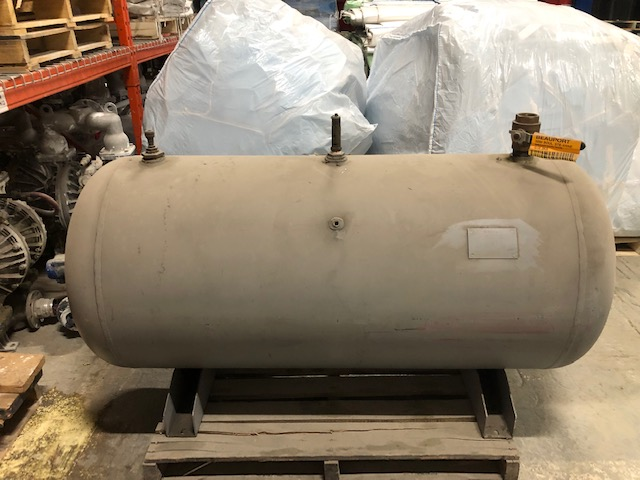 "Compressed air Tank #2 spare 28"" dia x 64"" long 200psi, year 2004"