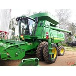 2002 9750 STS JD Combine sn H09750S696343 3889 eng hrs, 2801 thres hrs, Good Rubber!, 20.8/38 Dual