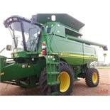 2002 9650 STS JD Combine sn H09650S967101 3537eng hrs, 2740 thres hrs, 290hp, 30.5L-32 fr, 18.4-26