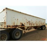 1981 Lode T/A Grain Trailer sn HGT380681K123 Lot # ,& Selling on choice