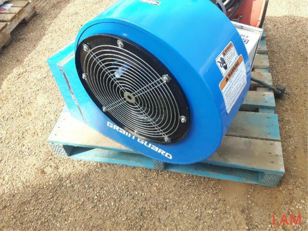Lot 53 - 3ph Aeration Fan Blue
