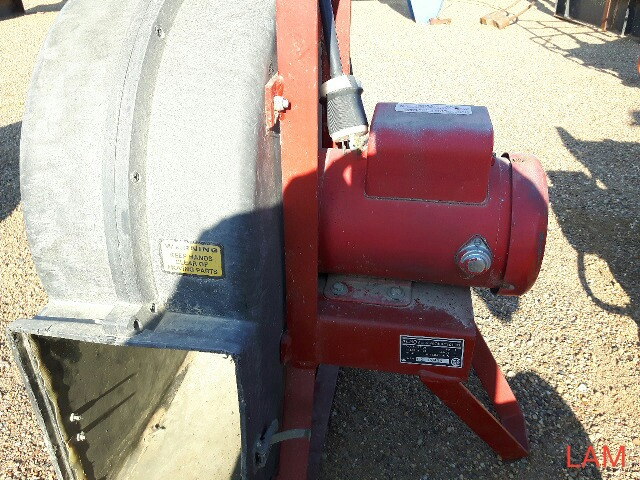 Lot 54a - 3hp Aeration Fan