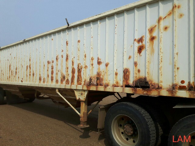 1981 Lode T/A Grain Trailer sn HGT380681K123 Lot # ,& Selling on choice - Image 8 of 9