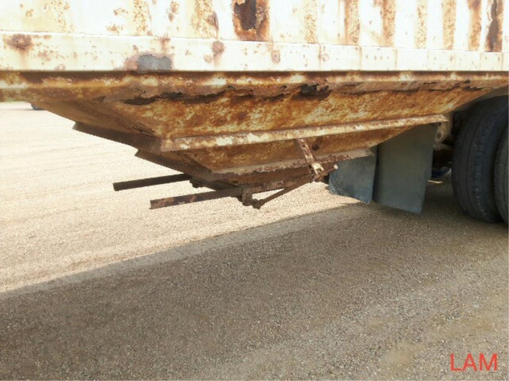 1981 Lode T/A Grain Trailer sn HGT380681K123 Lot # ,& Selling on choice - Image 3 of 9