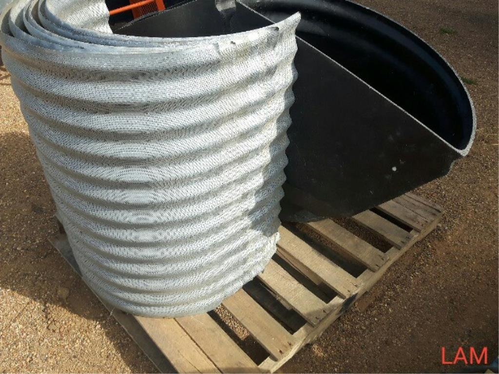 Aeration Ductwork One Skid