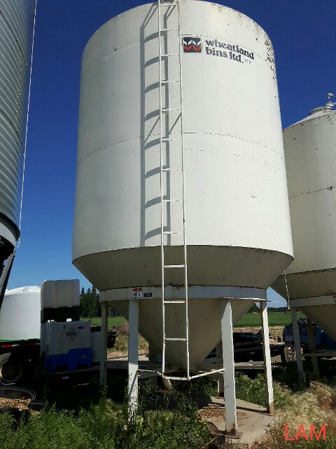 Lot 41 - Bin W3 1212E Wheatland Hopper Fertilizer Bin +/- 49 Tonne, +/-1500 bu