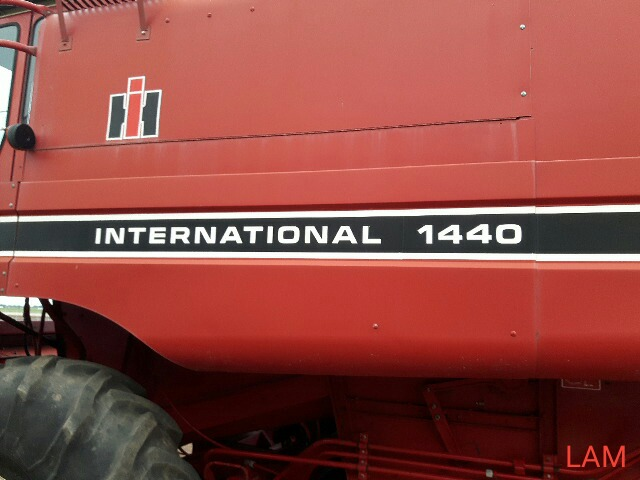 Lot 14 - 1440 IH Axial Flow Combine sn 1680211U6015 2612hrs, hydrostatic drive