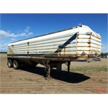 1985 Doepker T/A Grain Trailer VIN 2D9GBRZ26F1016943 Lot # ,& Selling on choice