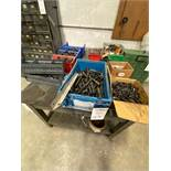 Lot of Boxes Of Various Size Nuts And Bolts In Boxes