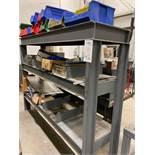 Steel Heavy Metal Rack And Contents