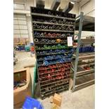 Metal Rack And Contents Of Metal Various Size Springs