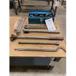 """Lot of 1"""" Socket Sets And Wrenches"""