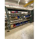 Lot of Heavy Metal Rack And Contents