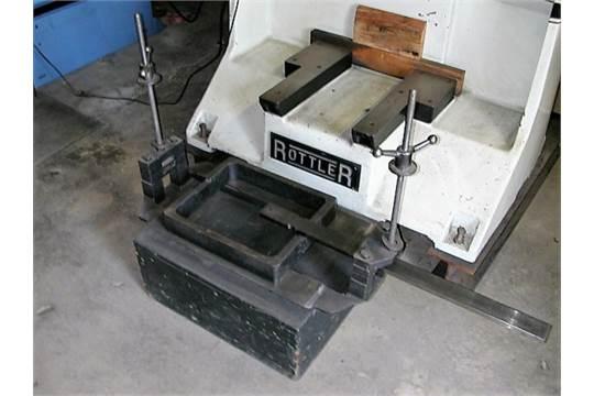 Boring Bar Attachment (Used on Rottler Boring Bar Machine