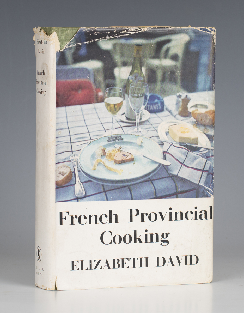 COOKERY. - Elizabeth DAVID. French Provincial Cooking. London: Michael Joseph, 1960. First