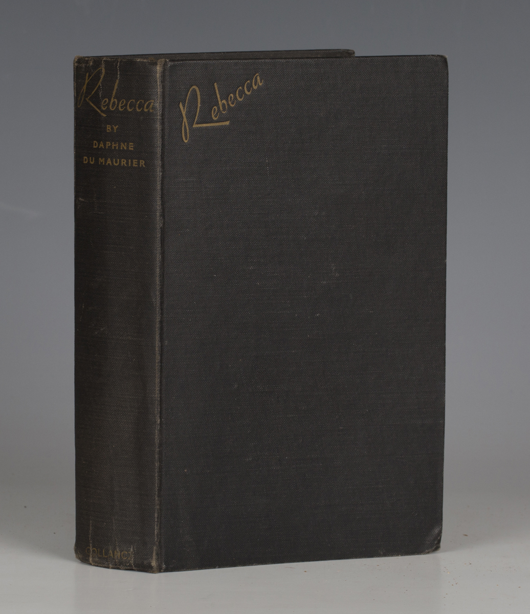 DU MAURIER, Daphne. Rebecca. London: Gollancz, 1938. First edition, signed by the author, 8vo (197 x