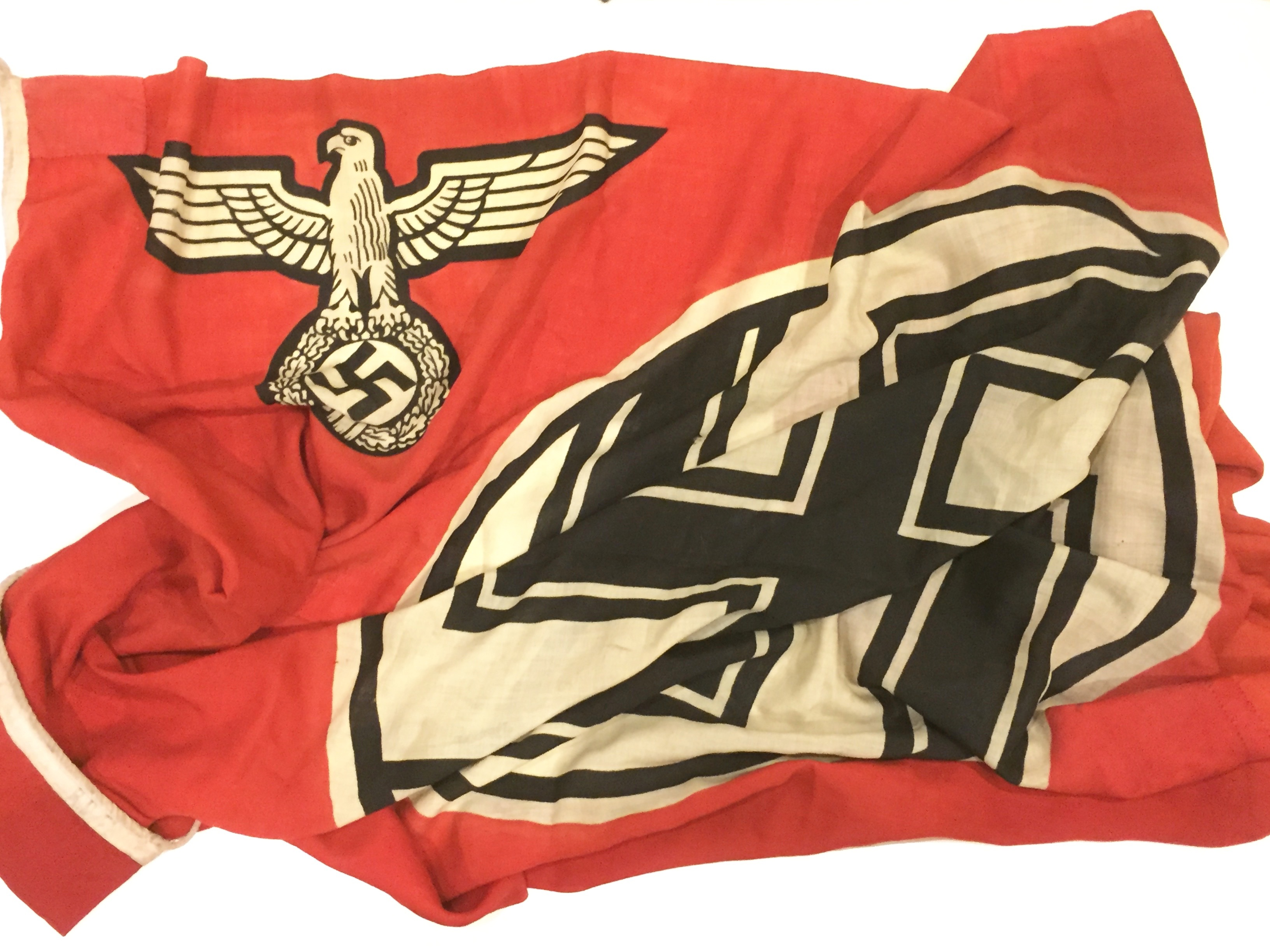 german third reich ww2 reich service flag a good example of red