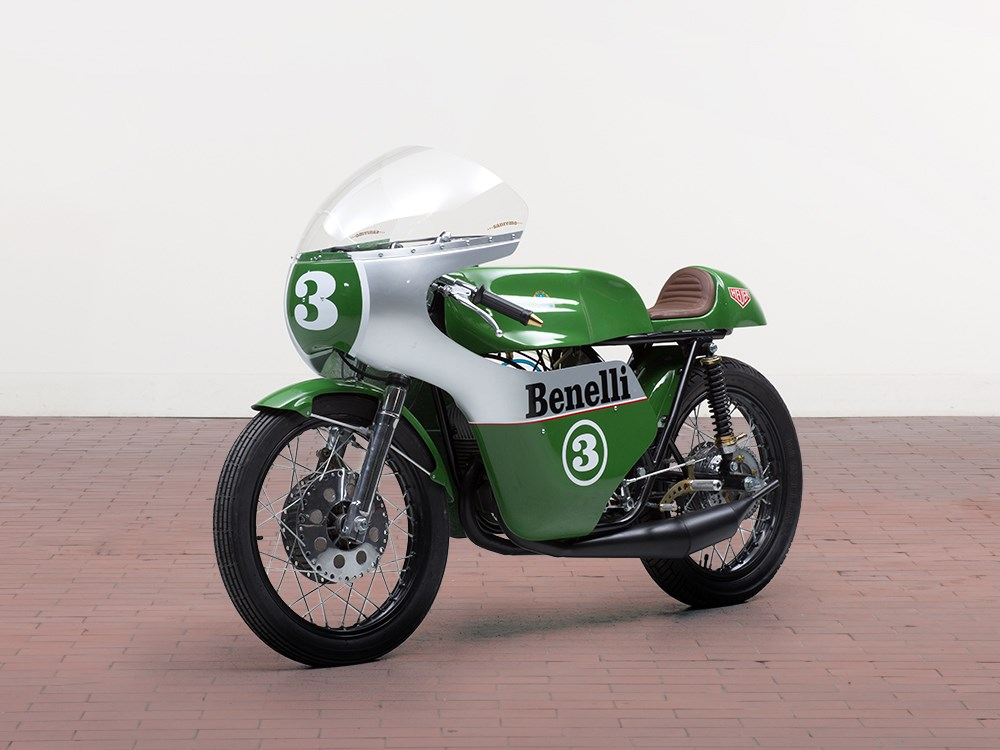 Benelli 250 Racing Motorcycle, Replica Of The Original