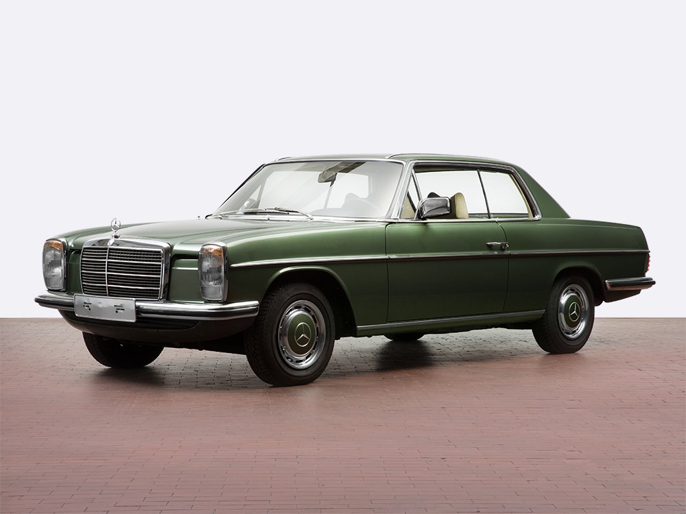 Mercedes benz 250c with 57 274 km mileage model 1974 for Mercedes benz 250c