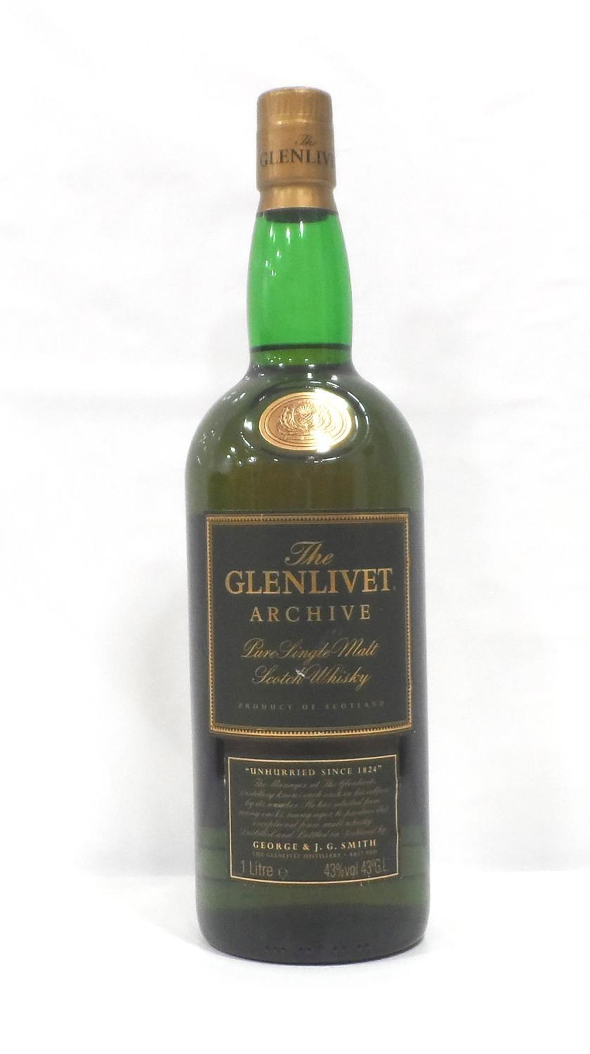 """GLENLIVET ARCHIVE 15YO Another whisky with """"The"""" definitive article...The Glenlivet Archive 15"""
