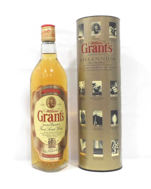 GRANT'S MILLENNIUM A bottle of William Grant's The Family Reserve Millennium Blended Scotch