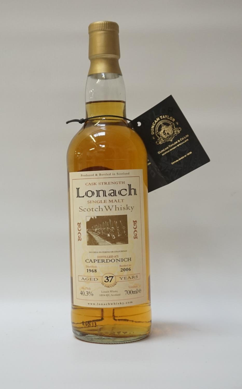 CAPERDONICH 1968 - DUNCAN TAYLOR Caperdonich 37 Year Old Single Malt Scotch Whisky from Duncan