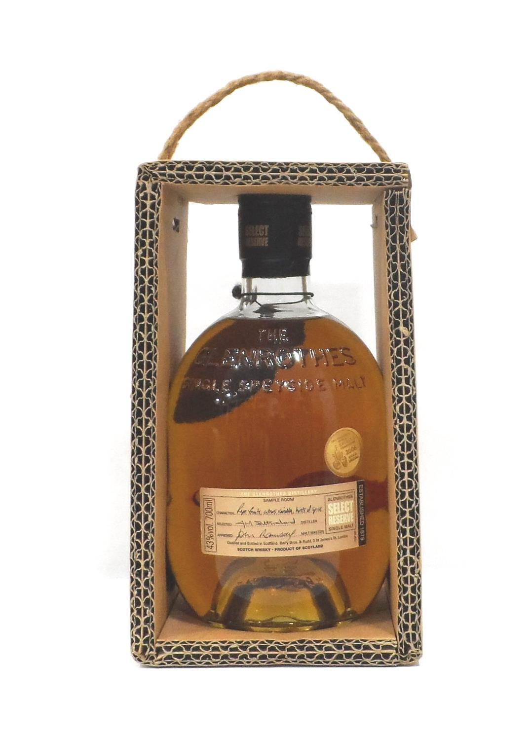GLENROTHES SELECT RESERVE A bottle of the Glenrothes Select Reserve Single Malt Scotch Whisky. 70cl.