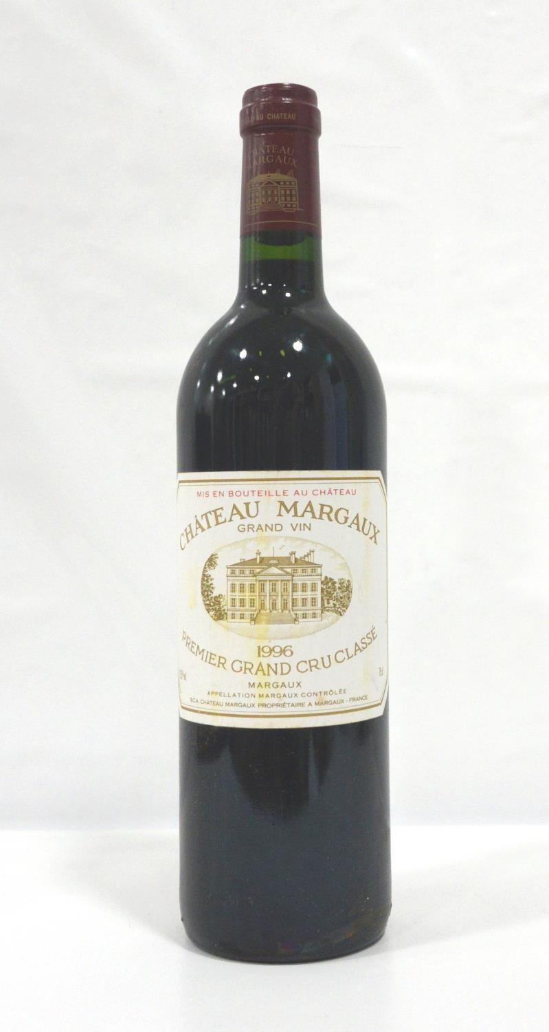 CHATEAU MARGAUX 1996 One of the great names of Bordeaux and one of the great vintages of the last