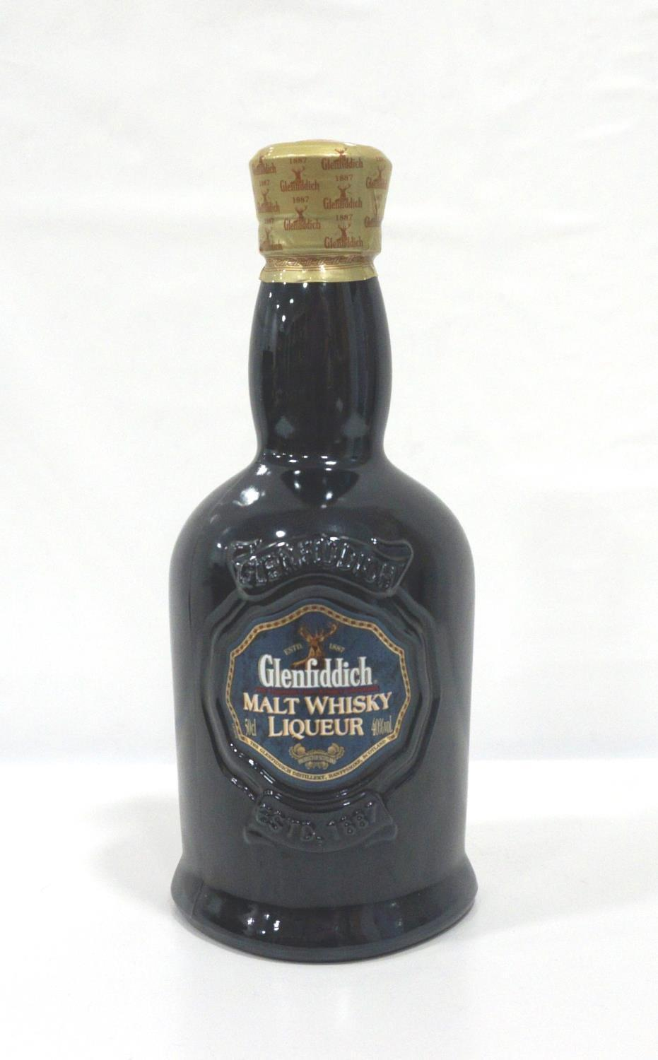 GLENFIDDICH MALT WHISKY LIQUEUR A highly sought after and long discontinued bottle of the
