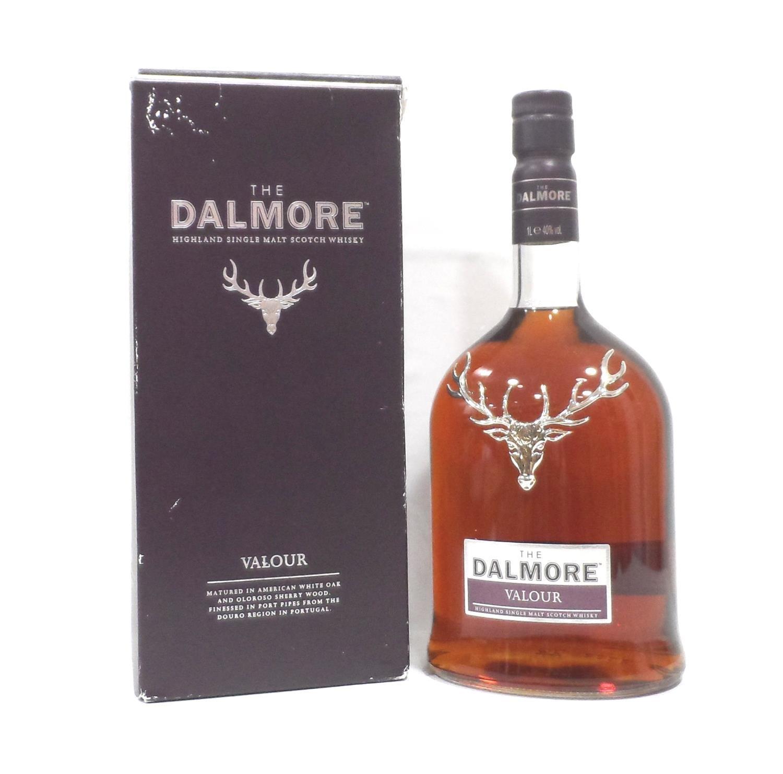 DALMORE VALOUR A bottle of this travel retail exclusive Dalmore Valour Single Malt Scotch Whisky.