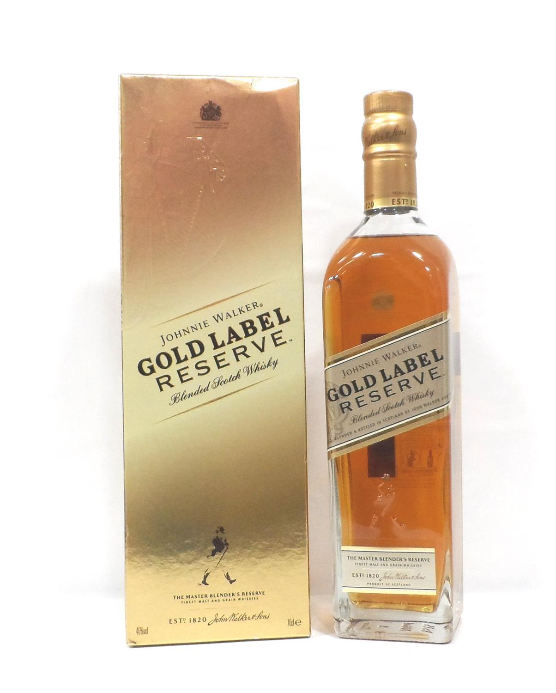 JOHNNIE WALKER GOLD LABEL RESERVE A fine bottle of Johnnie Walker Gold Label Reserve Blended