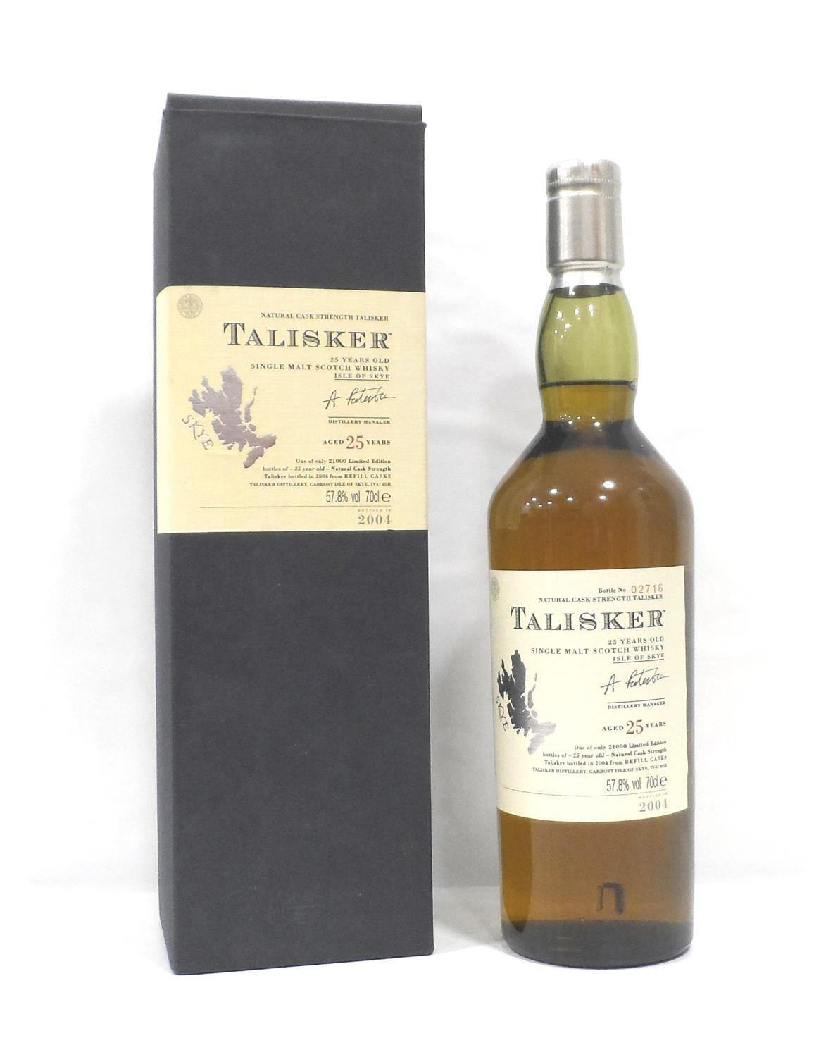 TALISKER 25YO This bottle is a prime example of why Talisker is one of my favourite drams.