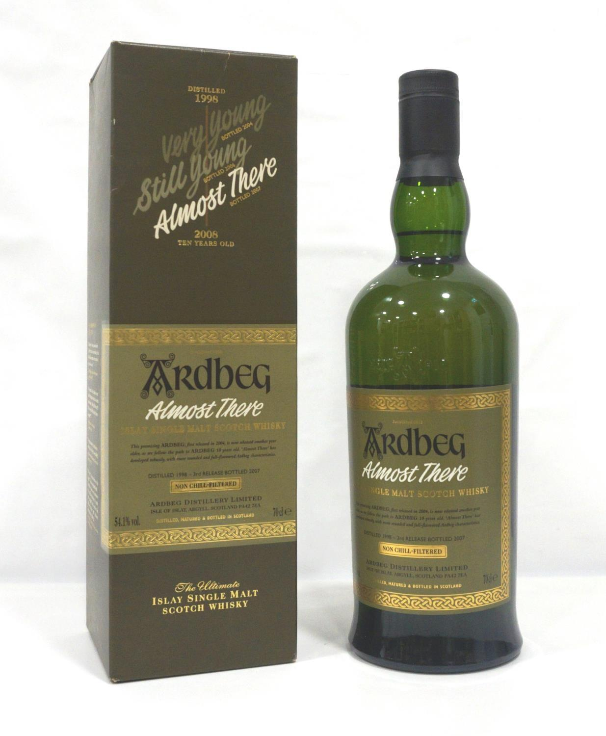 ARDBEG ALMOST THERE The third release in the series of Ardbeg released on the run up to the new 10
