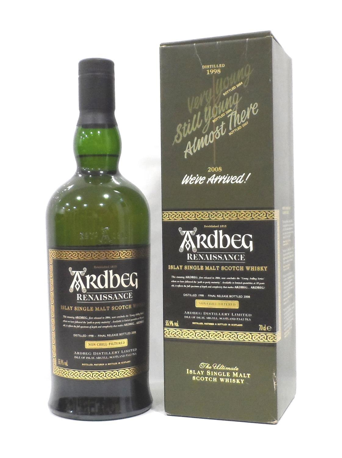 ARDBEG RENAISSANCE The final instalment in the series celebrating the reappearance of the Ten Year