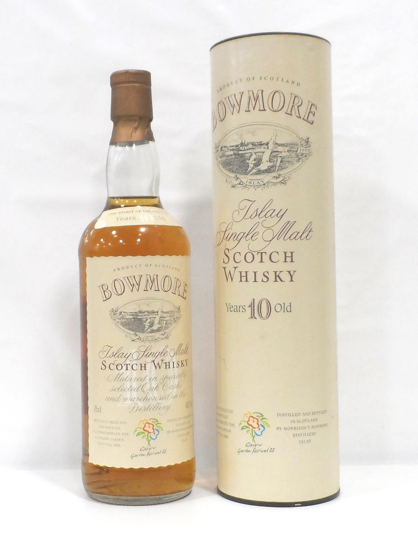 BOWMORE 10YO GLASGOW GARDEN FESTIVAL A fantastic bottling of the Bowmore 10 Year Old Single Malt