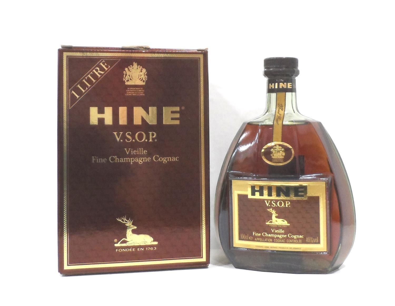 HINE V.S.O.P. VIEILLE FINE CHAMPAGNE COGNAC A bottle of the illustrious Hine V.S.O.P. Vielle Fine